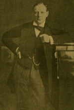 Churchill in 1904: Success! A young politician at last!