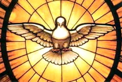 Stainglass Dove of Peace
