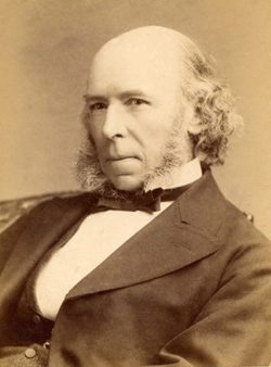 Herbert Spencer in the 1880s