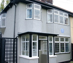 John Lennon's childhood home in Liverpool