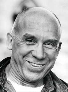 A warmly smiling Thomas Merton