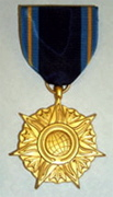 NASA star-shaped Distinguished Public Service Medal