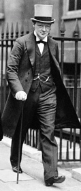 Churchill, First Lord of the Admiralty, in 1912