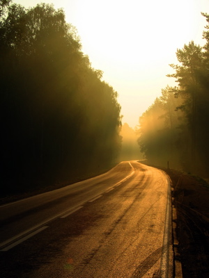 What's around the next bend, in the unknown? A life of achievement beyond your wildest dreams!