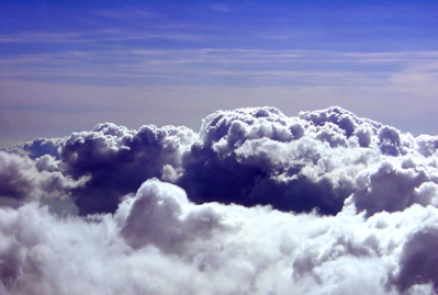 The rolling clouds of adversity actually help to make a more beautiful sky